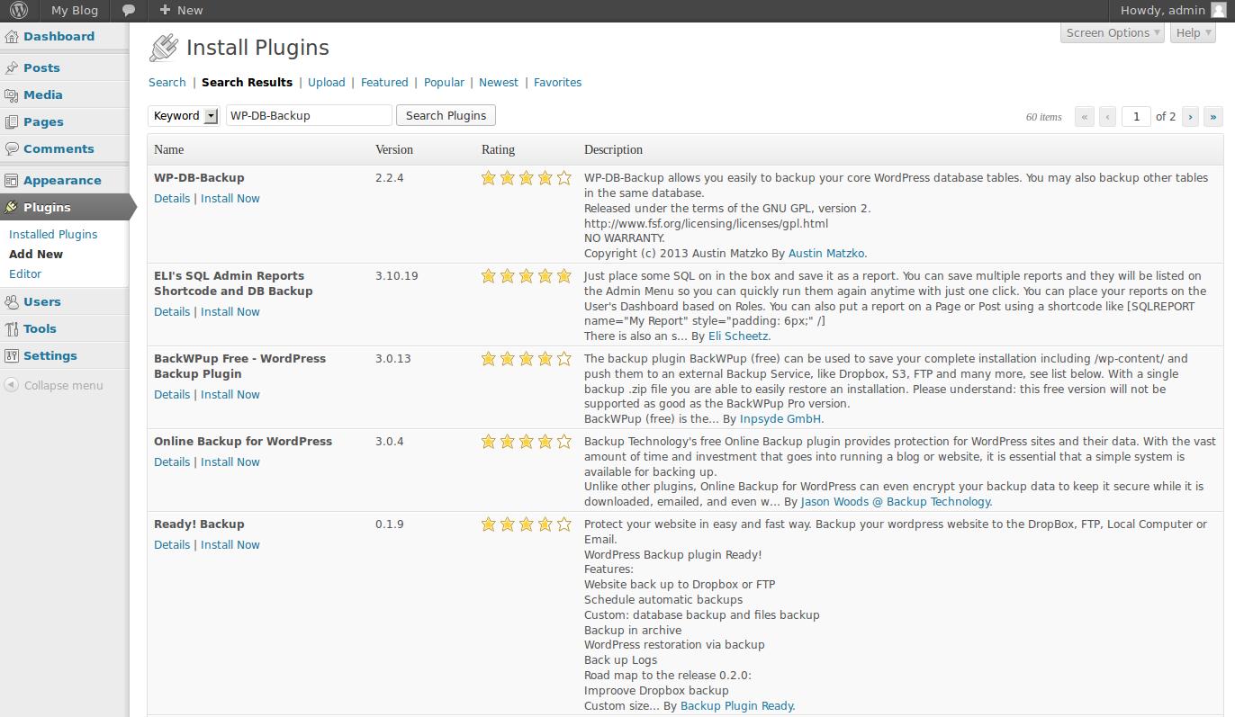 Как сделать бэкап сайта WordPress 52